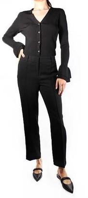 MICHAEL Michael Kors Cropped Slim Pant Black