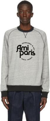 Ami Alexandre Mattiussi Grey Ami Paris Sweatshirt