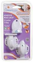 Dream Baby NEW Dreambaby Adhesive Mag Lock (Set of 2)