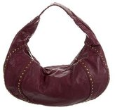 Kooba Leather Studded Hobo