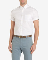 Ted Baker Oxford Cotton Shirt White