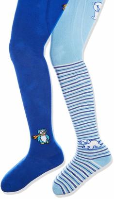 Playshoes Girl's elastische Thermo-Strumpfhosen Eisbar/Pinguin Tights