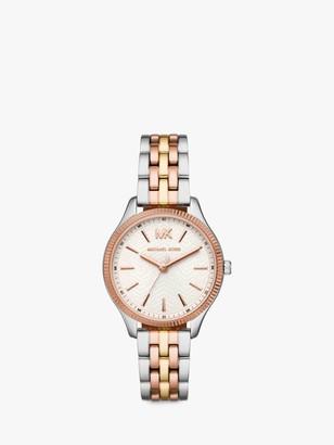 Michael Kors Women's Lexington Bracelet Strap Watch, Multi/White MK6642