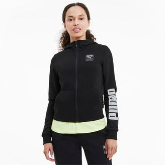 Puma Rebel Women's Full Zip Hoodie