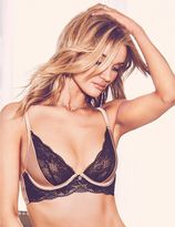 Marks and Spencer Silk & Lace Non-Padded Plunge Bra B-DD