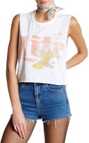 The Laundry Room American Babe Life Crop Muscle Tee