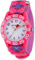 RED BALLOON Red Balloon Girls Pink and Purple Plaid Strap Watch