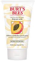 Burt's Bees Peach and Willow Bark Deep Pore Scrub, 110g