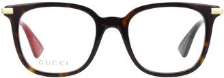 Gucci Gg0110o Havana Glasses