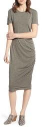 Treasure & Bond Side Ruched Body-Con Dress