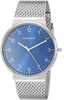 Skagen Men's SKW6164 Ancher Stainless Steel Mesh Watch