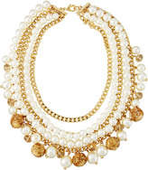 Fragments for Neiman Marcus Multi-Row Simulated Pearl Statement Necklace