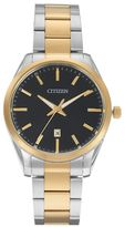 Citizen Men's Two Tone Stainless Steel Watch - BI1034-52E