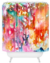 """DENY Designs Stephanie Corfee Corfee Fast and Loose Shower Curtain by 71""""x74"""")"""