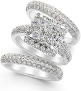 Macy's Diamond Bridal Set in 14k White Gold (2-2/3 ct. t.w.)