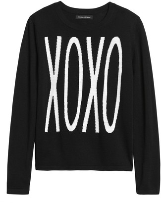 Banana Republic Petite Xoxo Sweater