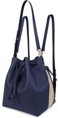 Esin Akan Notting Hill - Navy & Sand - Backpack