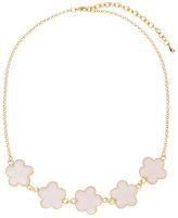 Jardin Pink Clover Necklace