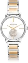 Michael Kors Portia Two-Tone Stainless Steel Women's Watch
