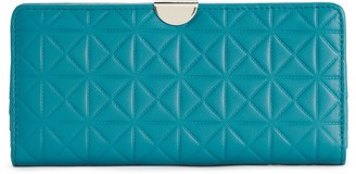 Apt. 9 Lambskin Leather RFID-Blocking Slim Clutch Wallet
