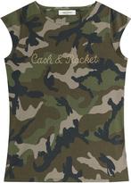 Valentino Cash & Rocket Embellished Cotton T-shirt