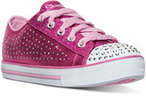 Skechers Little Girls' Twinkle Toes: Chit Chat - Pixie Sweets Casual Sneakers from Finish Line