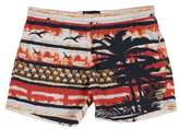 Blauer Swimming trunks