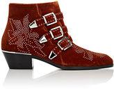 Chloé Women's Suzanna Velvet Ankle Boots