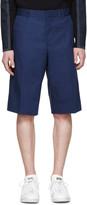 Givenchy Blue Cotton Bermuda Shorts