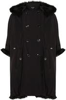 Emporio Armani Reversible Faux Fur Coat