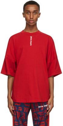 Palm Angels Red NS Logo T-Shirt