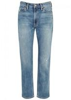 Vince Blue Straight-leg Jeans