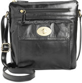 Giani Bernini Glazed Turnlock Crossbody, Only at Macy's