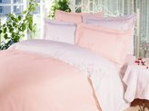 Natural Comfort Boundless Starlight Embroidered Duvet Cover and Pillow Sham Set, Twin