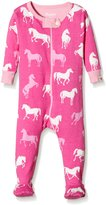 Hatley Infant Footed Coverall - Classic Horses