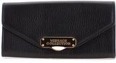 Versace Black Oro Chiaro Leather Crossbody Bag