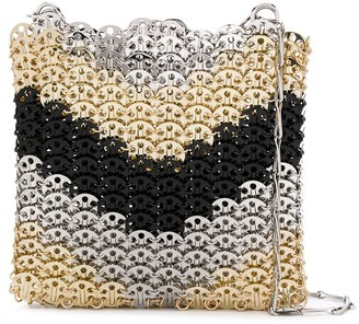 Paco Rabanne Metallic Chain Link Tote Bag