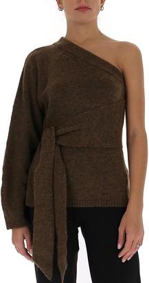 Nanushka Cleto One Shoulder Sweater