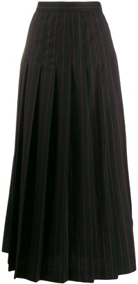 McQ Swallow Pleated Skirt