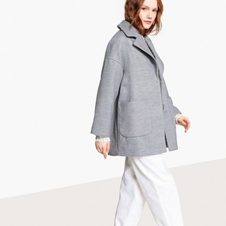 La Redoute Collections Oversized Ovoid Coat