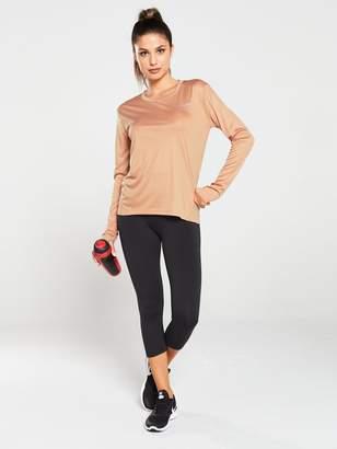 Nike Running LS Miler Top - Rose Gold