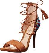 Jessica Simpson Women's Basanti Lace-Up High Heel