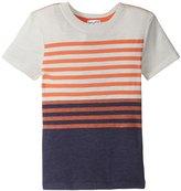 Splendid Classic Stripe Tee (Toddler/Kid) - Off White - 2T