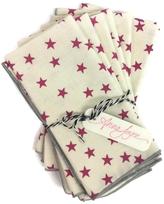Anna Joyce Pink Stars Napkins