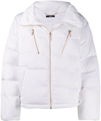Liu Jo Zip-Up Puffer Jacket