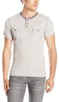 Paper Denim & Cloth Men's Harvey Short Sleeve Pocket Henley