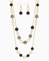 Charming charlie Rock Candy Necklace Set