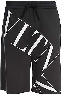 Valentino Men's Oversized Logo Sweat Shorts