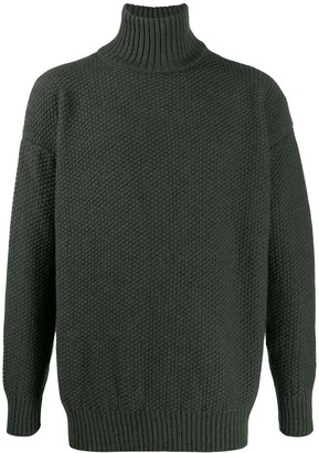 Katharine Hamnett Loose-Fit Turtleneck Jumper