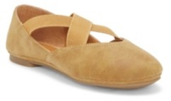 Lucky Brand Kids by Vince Camuto Big Girls and Little Girls Ballet Flat Slip On with Double Gore Criss Cross Straps